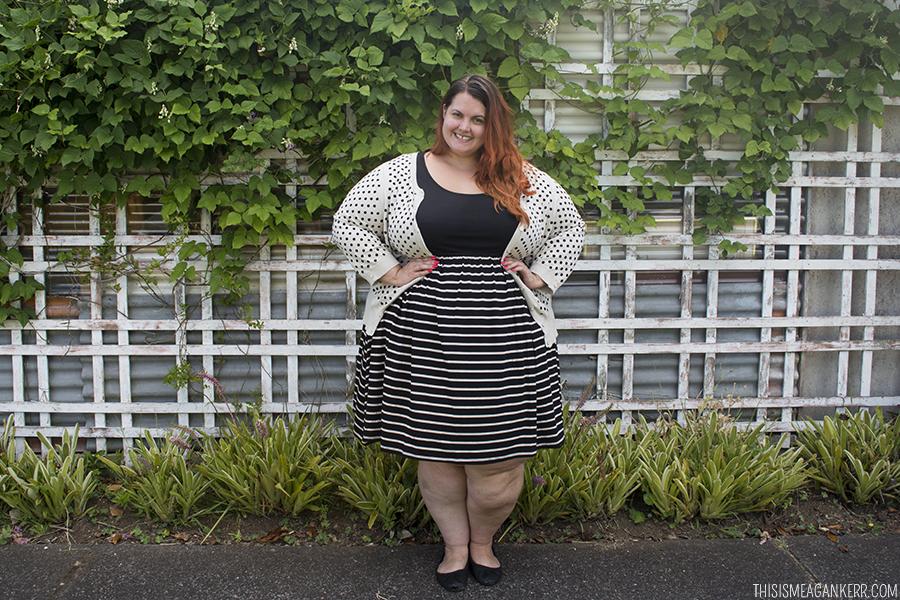 How a chubby girl dress 3