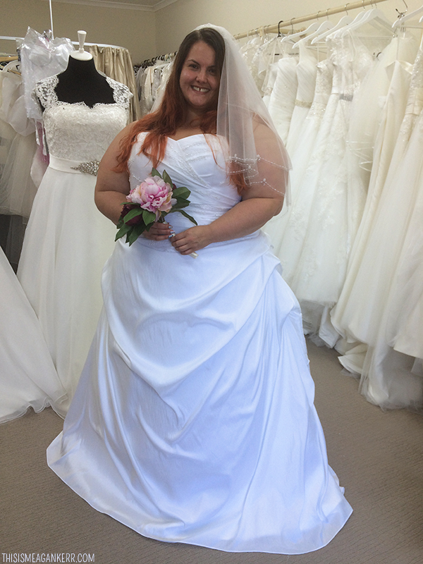 Fab Frocks - Plus Size Bridal & Formal Gowns - This is Meagan Kerr