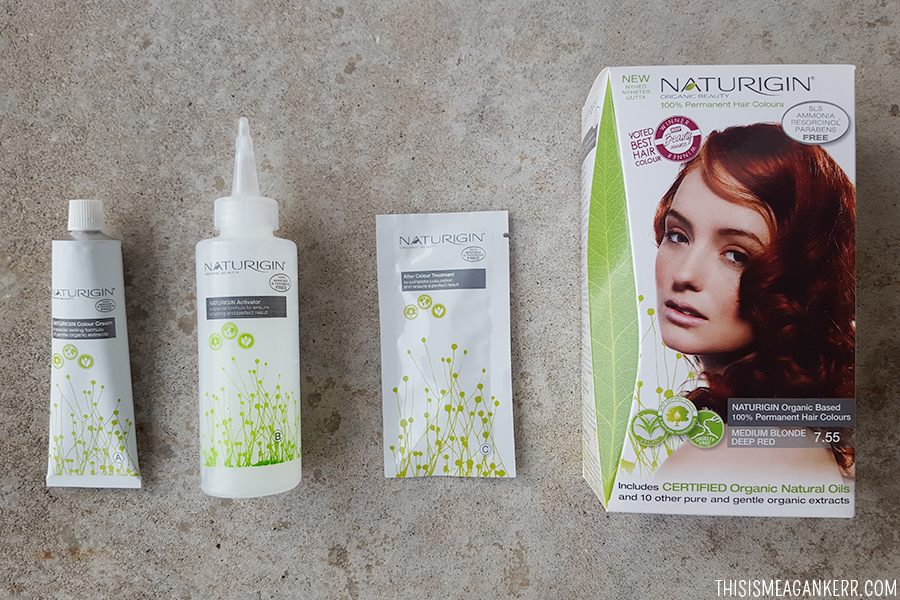 Review Naturigin Cruelty Free Hair Colour This Is Meagan Kerr
