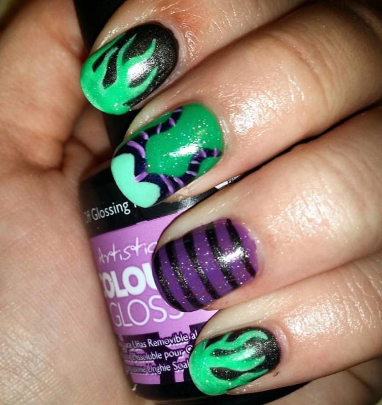 Halloween Nail Art - This is Meagan Kerr