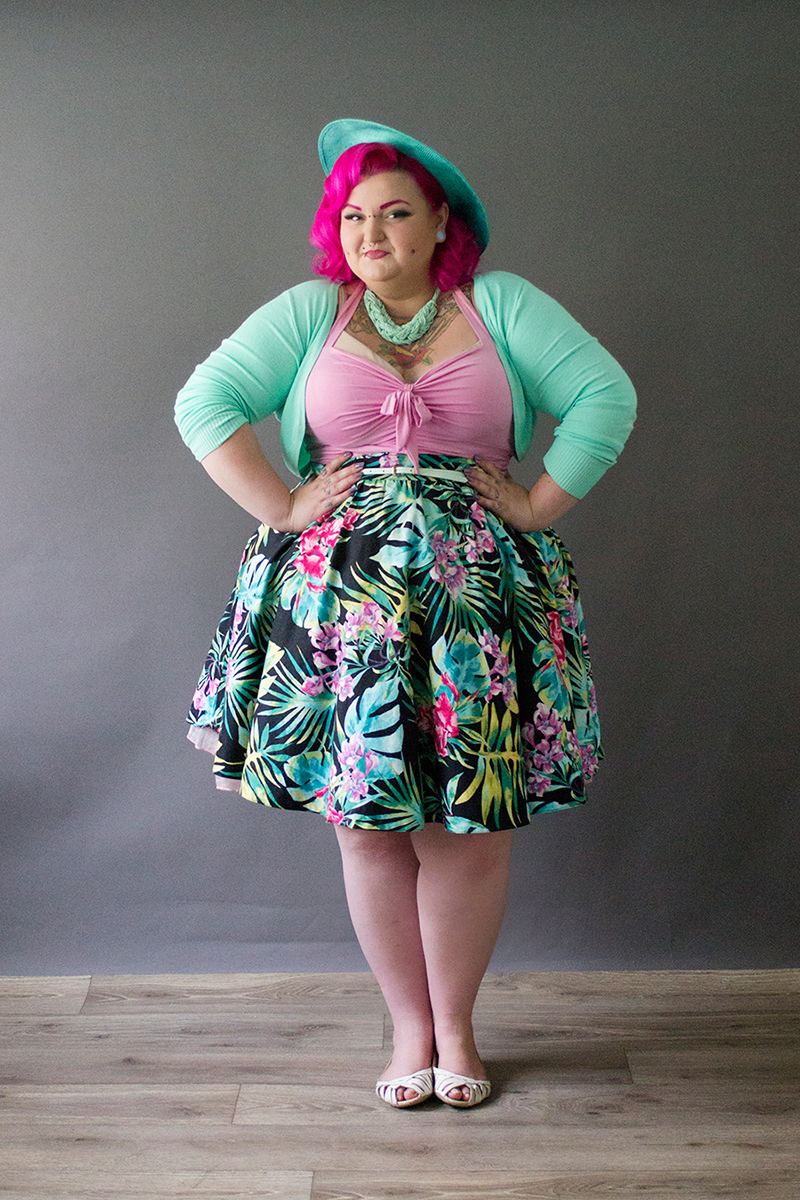 Plus Size Pinup Fran Robertson This Is Meagan Kerr
