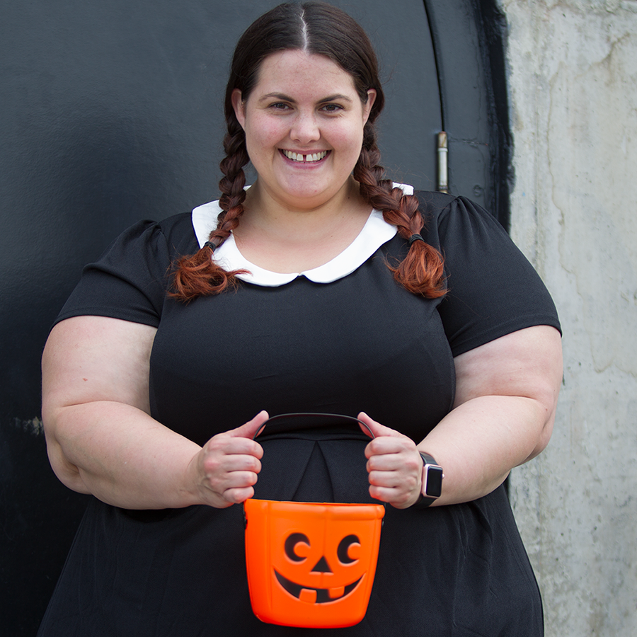 Halloween Costume: Wednesday Addams - This is Meagan Kerr