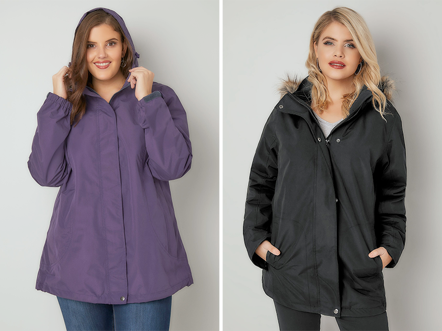 7f8b501ef98a5 Plus Size Coats - This is Meagan Kerr